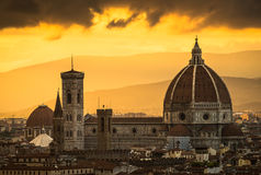 Santa Maria Church Florence stockfoto