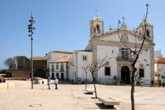 Santa Maria Church i Lagos Royaltyfri Bild