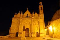 Santa Maria church at night, Antequera, Spain.