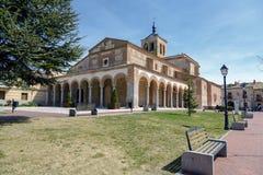Santa Maria Church in Olmedo Royalty Free Stock Images
