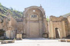 Santa Maria church ruins, Cazorla, Jaen, Spain.  royalty free stock images