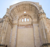 Santa Maria church ruins, Cazorla, Jaen, Spain.  stock images