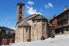 Santa Maria church in Taull Stock Images