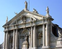 Santa Maria church in Venice royalty free stock photo