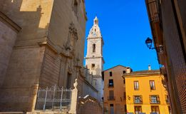 Santa Maria church in Xativa of Valencia royalty free stock images