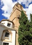 Santa Maria churchRonda Malaga Spain Stock Photos