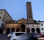 Santa Maria in Cosmedin basilica Stock Photography