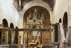 Santa Maria in Cosmedin, Rome Royalty Free Stock Photos