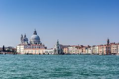 Santa Maria D Salute in Venice stock photos