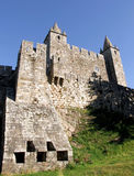 Santa Maria da Feira castle Stock Image