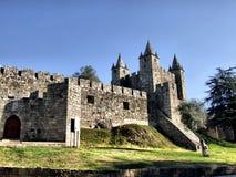 Santa Maria da Feira castle royalty free stock photo
