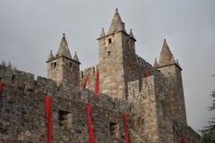 Santa Maria da Feira Castle Stock Photography