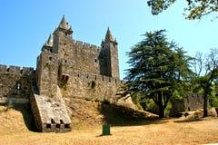 Santa Maria da feira castle stock images