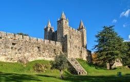 Santa Maria da Feira castle Royalty Free Stock Images