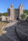 Santa Maria da Feira, Portugal - Schloss Castelo DA Feira lizenzfreies stockfoto