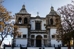 Santa Maria da Se church in Setubal Stock Photo