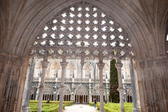 Santa Maria da Vitoria, Batalha, ce Photos stock