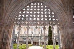 Santa Maria da Vitoria Batalha, Ce Arkivfoton