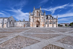 Santa Maria da Vitoria monastery. Famous monastery in Portugal. Batalha and monastery were founded by King D. João I of Portugal to pay homage to the Portuguese Royalty Free Stock Photos
