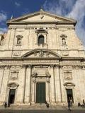 Santa Maria dans l'église de Vallicella à Rome, Italie Photo libre de droits