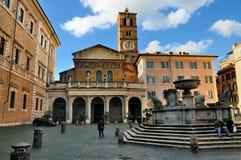 Santa Maria dans Trastevere Image libre de droits