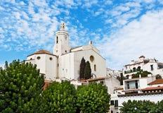 Santa Maria de Cadaques Stock Photography
