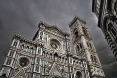 Santa Maria de Fiore, Florence cathedral Stock Photos
