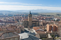 Santa Maria de Gracia Convent at Avila, Spain Royalty Free Stock Photo