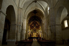 Santa Maria de Huerta Monastery Stock Images
