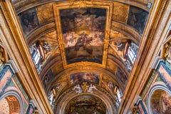 Santa Maria-de kerk van deimiracoli, Rome, Italië Stock Foto