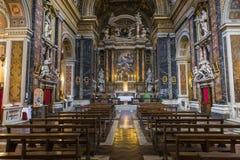 Santa Maria-de kerk van deimiracoli, Rome, Italië Royalty-vrije Stock Fotografie