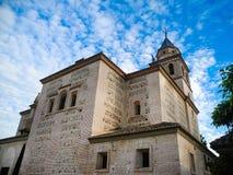 Santa Maria de la Alhambra in Granada, Andalusien, Spanien lizenzfreie stockfotografie