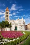 Santa Maria de la Antigua Church. Valladolid, Castilla y Leon. Spain royalty free stock photo