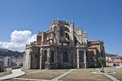 Santa Maria de la Asuncion Church Stock Photo
