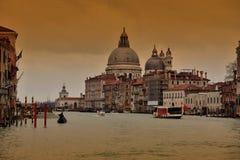 Santa Maria de la Salute i Venedig Royaltyfria Bilder