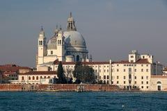 Santa Maria de la Salute, Venecia, Italia Imágenes de archivo libres de regalías