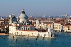 Santa Maria de la Salute, Venezia, Italia Fotografie Stock Libere da Diritti