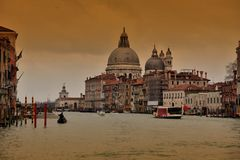 Santa Maria de la Salute in Venice Royalty Free Stock Images