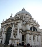 Santa Maria de la Salute, Venice, Italy 2019 . At day stock photos