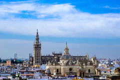 Santa Maria de la Sede Cathedral, Andalusia, Spain. Stock Images