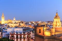 Santa Maria de la Sede Cathedral, Andalusia. Stock Photography