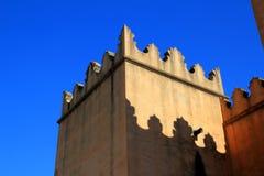 Santa Maria de la Valldigna Simat klostertorn Royaltyfria Foton