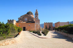 Santa Maria de la Valldigna Simat Monastery Spain Royalty Free Stock Images