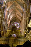 Santa Maria de Leon Cathedral. Spain Royalty Free Stock Photography