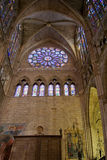 Santa Maria de Leon Cathedral. Spain Stock Photo