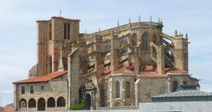 SANTA MARIA DE losu angeles ASUNCION kościół W CANTABRIA Obraz Royalty Free