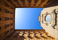 Santa Maria de Montserrat Royalty Free Stock Photo