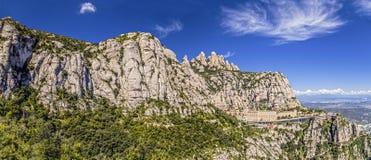 Santa Maria de Montserrat Immagini Stock