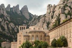 Santa Maria de Montserrat Fotografia de Stock Royalty Free
