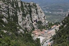 Santa Maria de Montserrat Abbey Imágenes de archivo libres de regalías